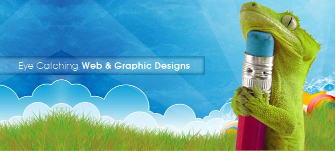 Eye Catching Web & Graphic Designs